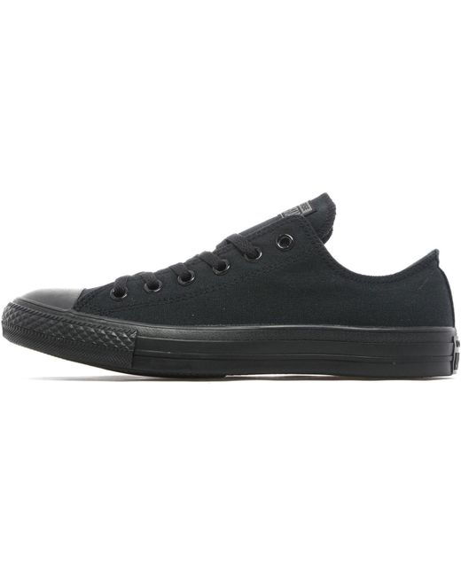 Converse Men's Black Monochrome All Star Hi Leather Trainers