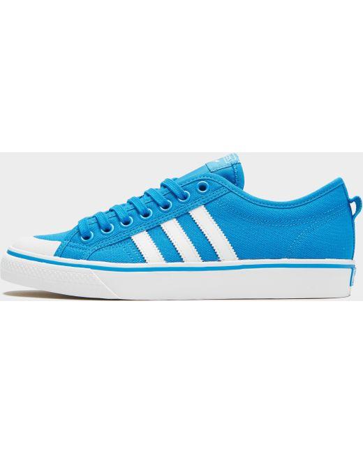 adidas Originals Men's Blue Nizza Lo