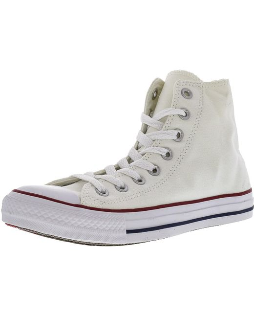 Converse Men's Brown Chuck Taylor All Star Leather Hi Top Sneakers