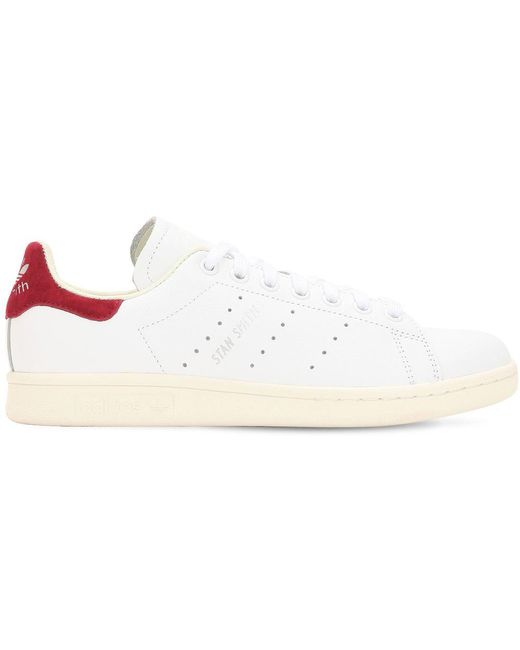 adidas Originals Men's White Stan Smith Og Leather Sneakers
