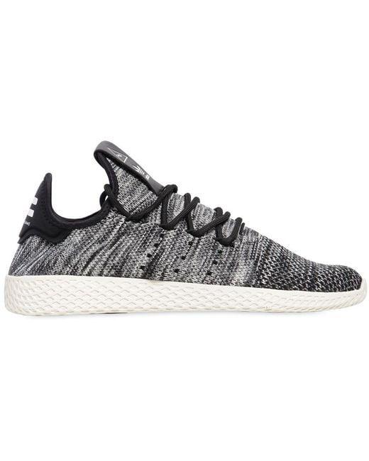 adidas Originals Men's Black Swift Run Primeknit Sneakers