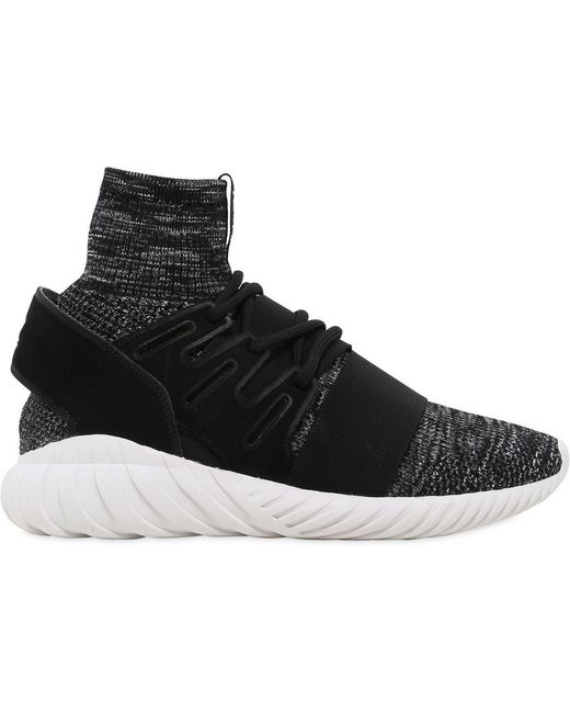 adidas Originals Men's Black Ultraboost 4.0 Primeknit Sneakers