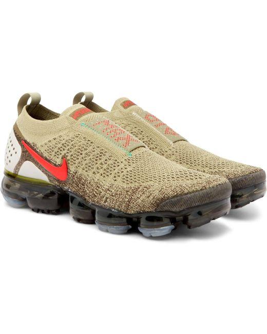 Nike Men's Blue Air Vapormax 2.0 Flyknit Sneakers