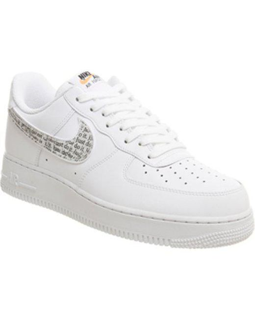 Nike Men's White Air Force 1 Hi