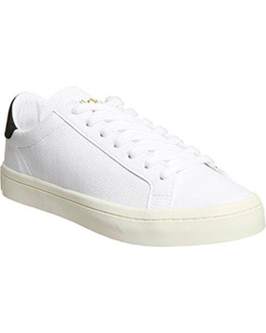 adidas Men's White Court Vantage E
