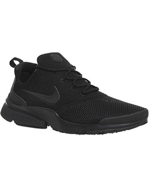 Nike Men's Black Presto Fly