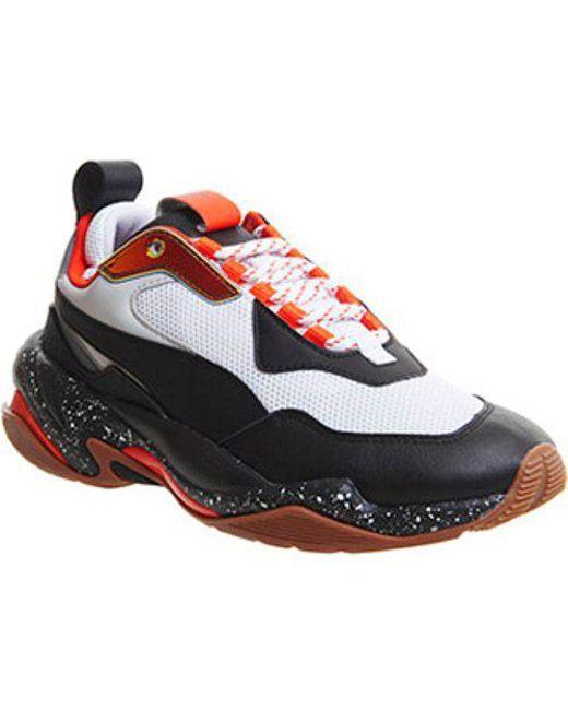 PUMA Men's White Thunder Electric Sneakers