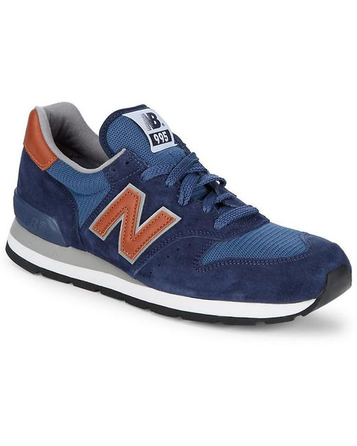 New Balance Men's Natural 247 Suede Sneakers