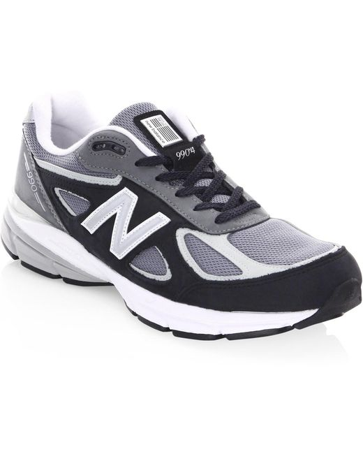 New Balance Men's Blue 990 Low-top Sneakers