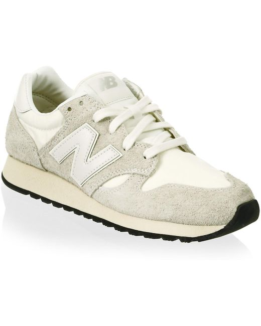 New Balance Men's Blue 520 Hairy Suede Sneakers