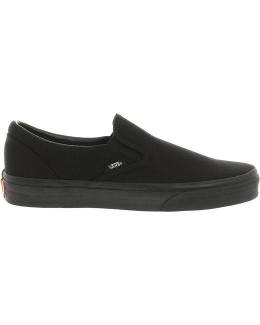 Vans Men's Gray Classic Slip On Leather