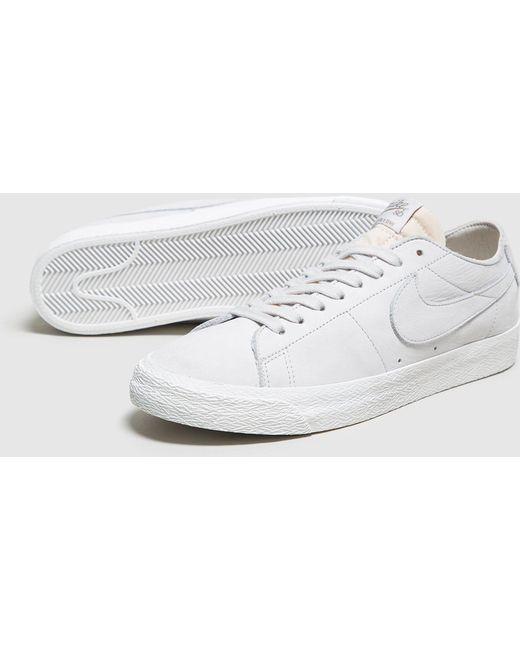 Nike Men's Gray Blazer Low Se W