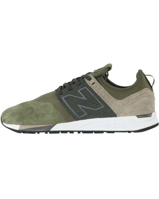 New Balance Men's Green 247rt