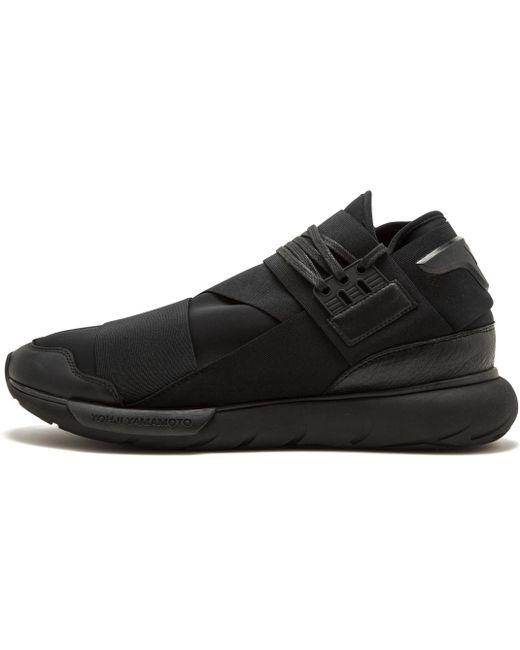 adidas Men's Black Y-3 Qasa High