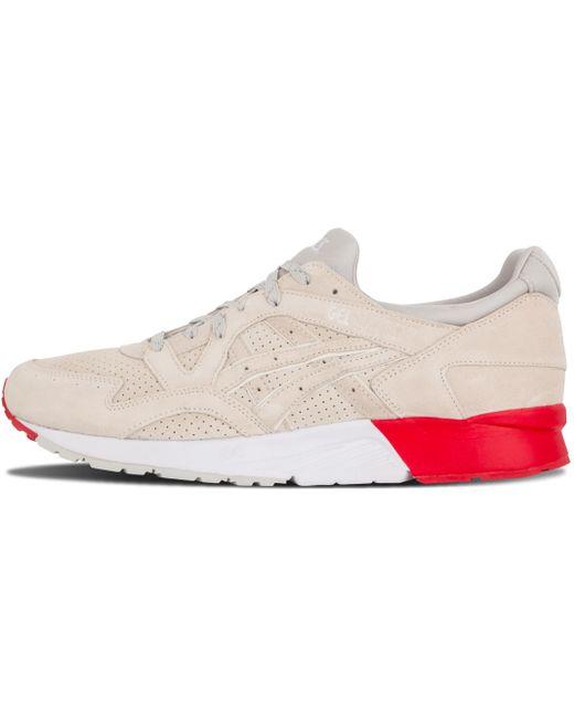 Asics Men's White Gel Lyte Mesh Sneakers