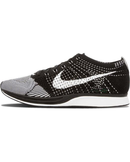 Nike Men's Black Flyknit Racer