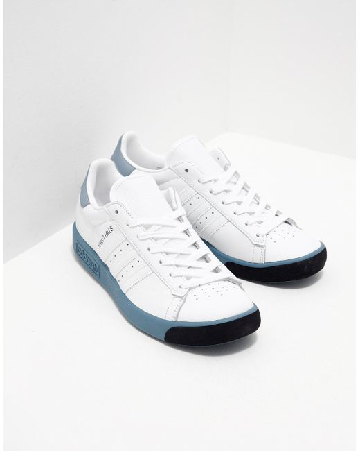 adidas Originals Mens Forest Hills White