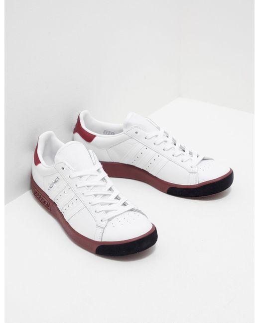 adidas Originals Mens Forest Hills White