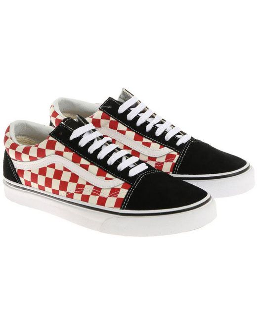 Vans Men's Black Old School Canvas Trainers
