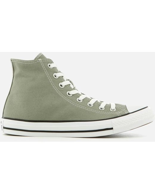 Converse Men's White Chuck Taylor All Star Hi-top Trainers