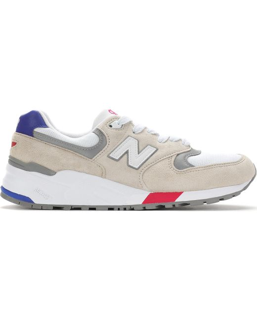 "New Balance Men's M997 Wea ""made In Usa"" White/purple"
