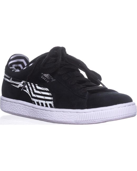 PUMA Men's Black Basket Classic Vr