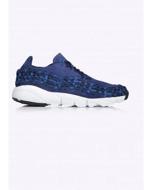 Nike Men's Blue Air Woven