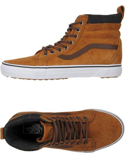 Vans Men's Brown High-tops & Sneakers