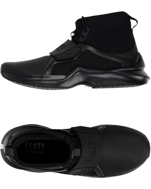 PUMA Men's Black High-tops & Sneakers