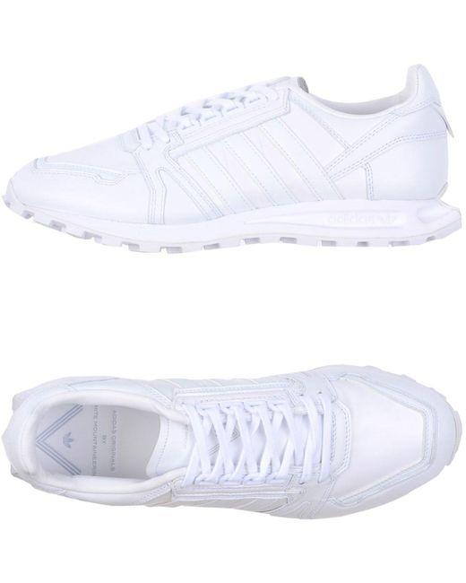 adidas Originals Men's White Low-tops & Sneakers