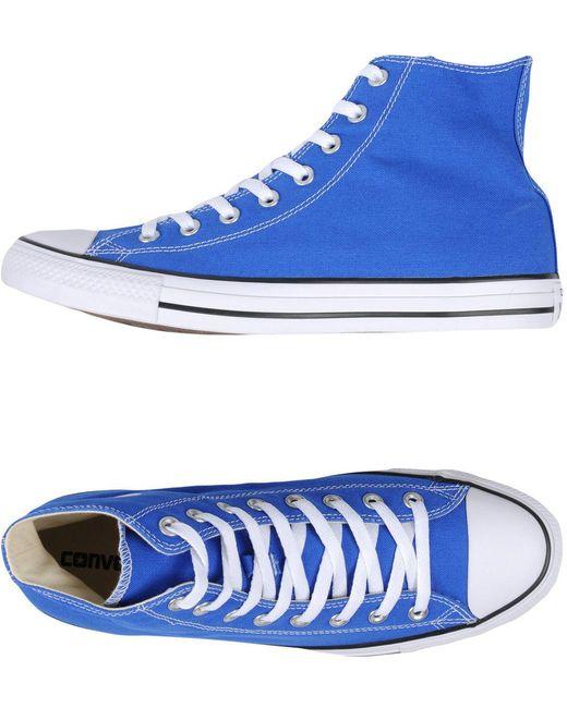Converse Men's Blue High-tops & Sneakers