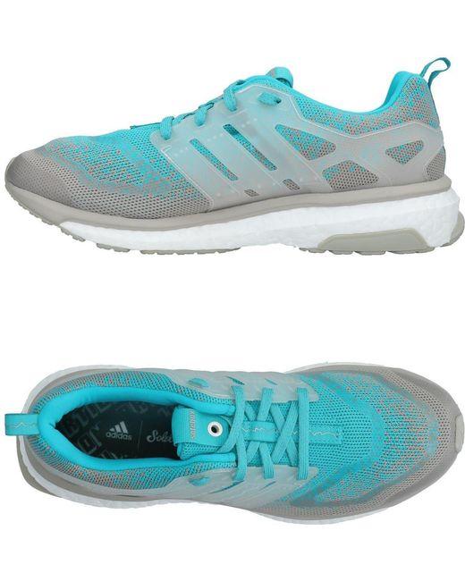 adidas Men's Blue Low-tops & Sneakers