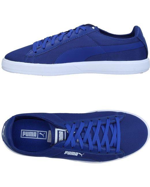 PUMA Men's Blue Low-tops & Sneakers