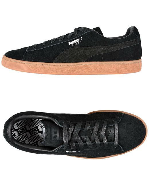 PUMA Men's Black Low-tops & Sneakers