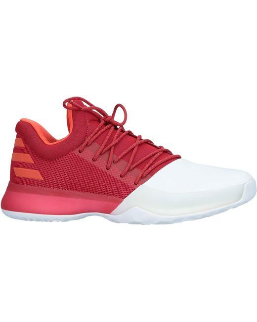 adidas Men's Red Low-tops & Sneakers
