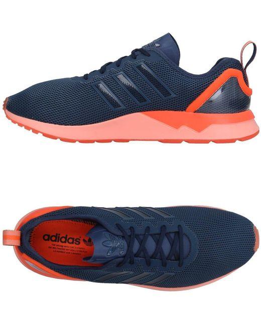 adidas Originals Men's Blue Low-tops & Sneakers