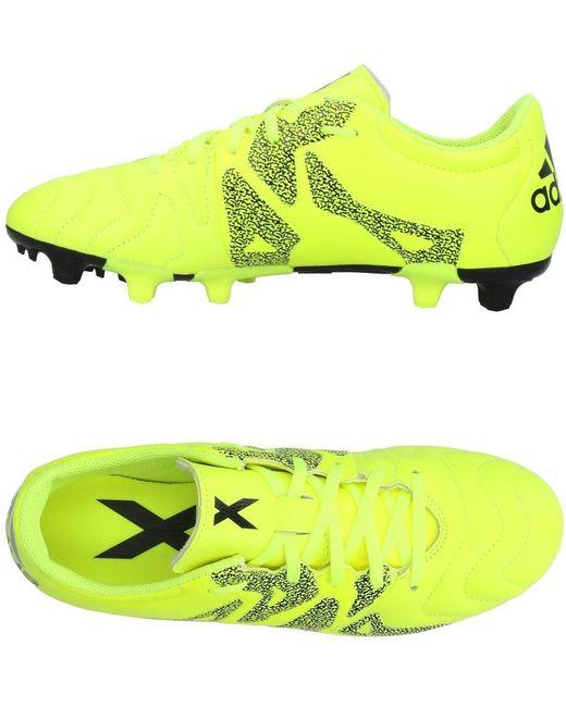 adidas Men's Yellow Low-tops & Sneakers
