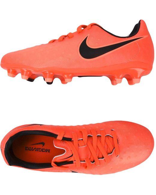 Nike Men's Orange Low-tops & Sneakers