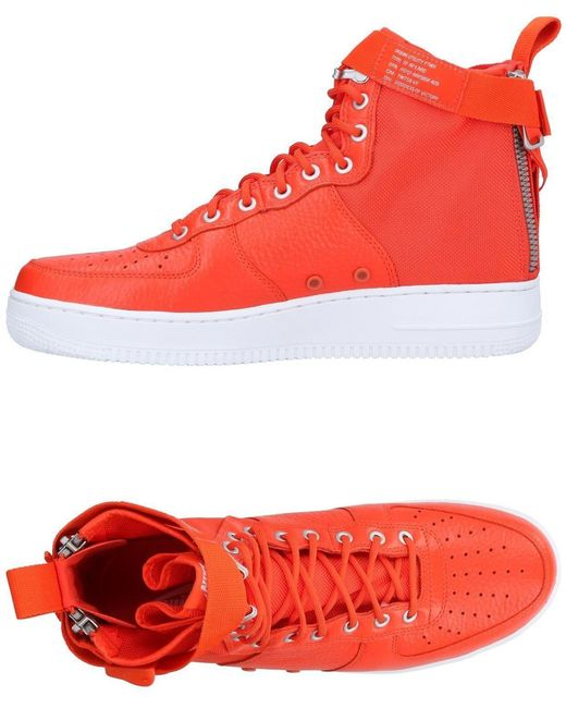 Nike Men's Red High-tops & Sneakers