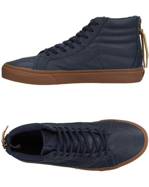 Vans Men's Blue High-tops & Sneakers