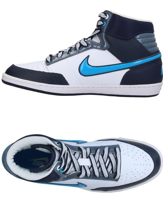 Nike Men's Blue High-tops & Sneakers
