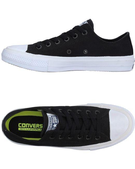 Converse Men's Black Low-tops & Sneakers