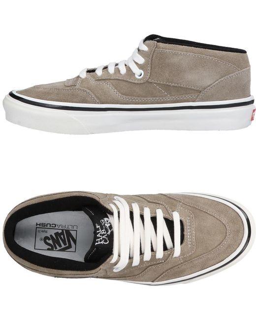 Vans Men's Green High-tops & Sneakers