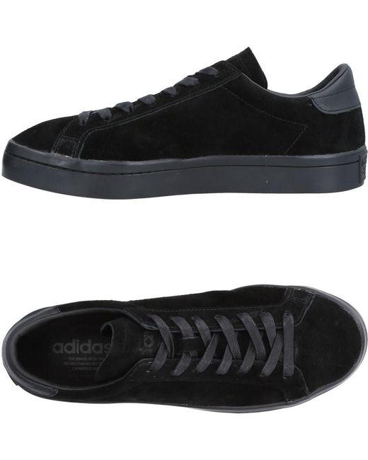 adidas Originals Men's Black Low-tops & Sneakers