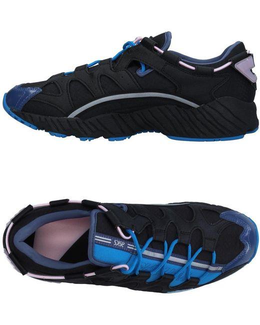 Asics Men's Black Low-tops & Sneakers