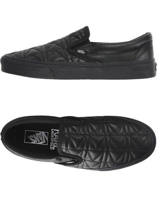 Vans Men's Black Low-tops & Sneakers