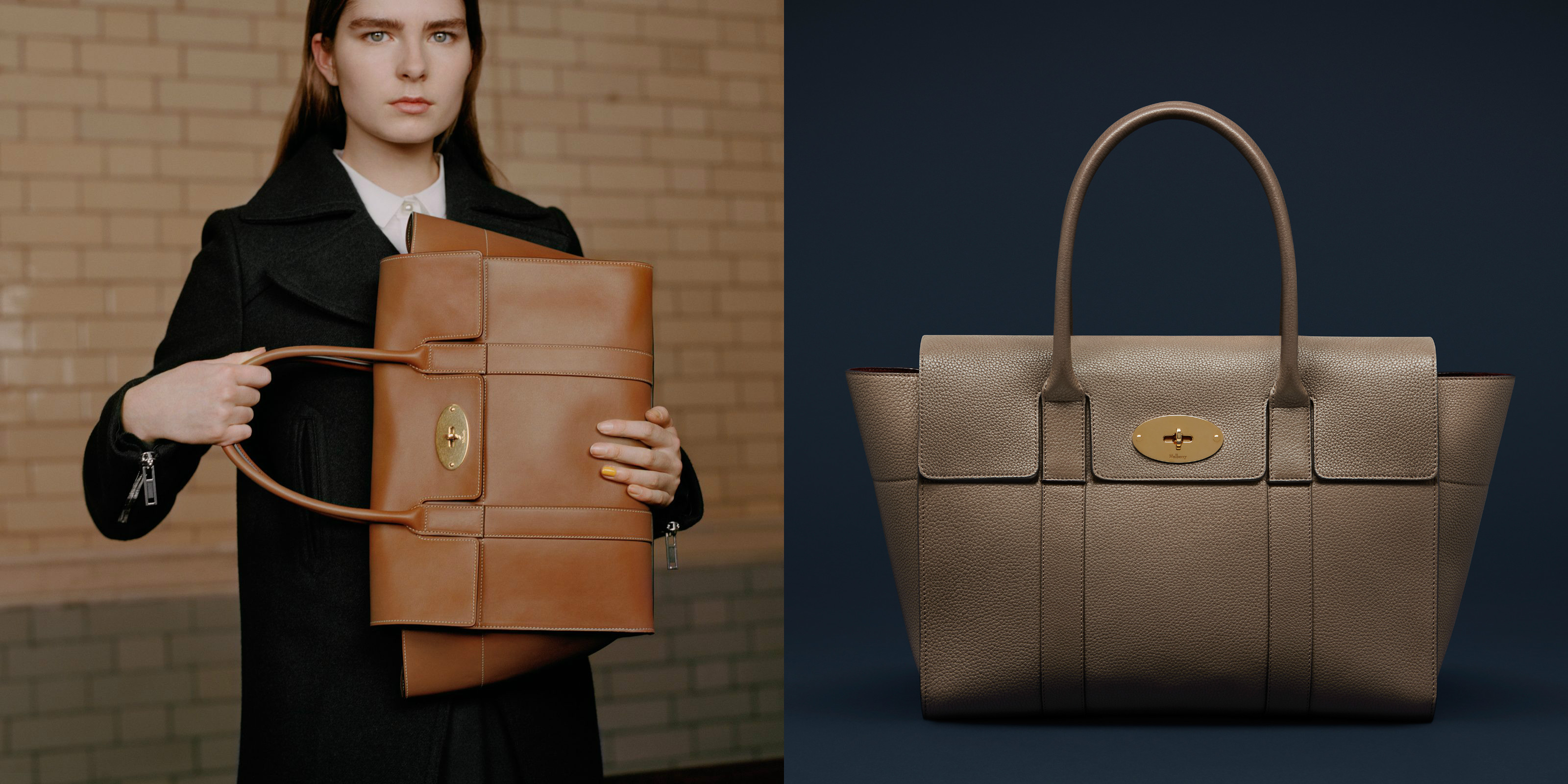 02c54cf3d9 Lyst - Mulberry s Bayswater Bag Gets A Makeover