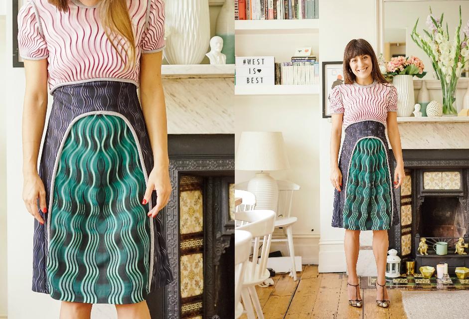 Dress £890 by Mary Katrantzou