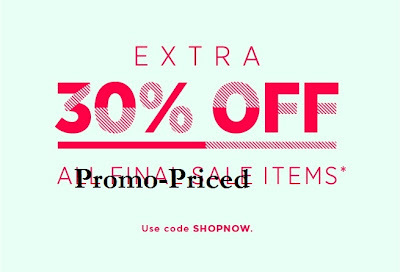 J.Crew Promo-Priced {aka Already Marked Down} Items Receive 30% Off!!!