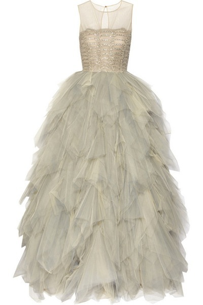 a total Taylor Swiftian princess dress by Oscar de la Renta: a...